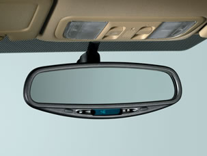 AUTO DAY/NIGHT MIRROR WITH COMPASS (part number:)