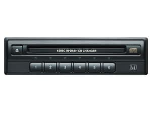 6 DISC IN-DASH CD CHANGER (part number:)