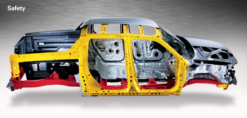Chassis, car body, undercarriage, steering and suspension