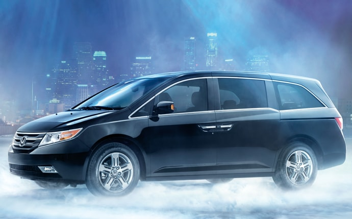 Exterior Photo of 2012 Honda Odyssey