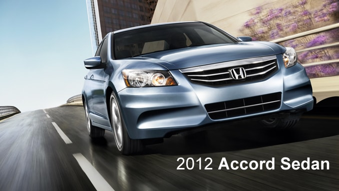 2012 Honda Accord Sedan - Honda Certified Used Cars