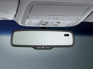 AUTO DAY/NIGHT MIRROR WITH COMPASS, LX (part number:)