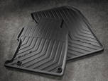 ALL-SEASON FLOORMATS, BLACK (part number:08P13-TS8-110)