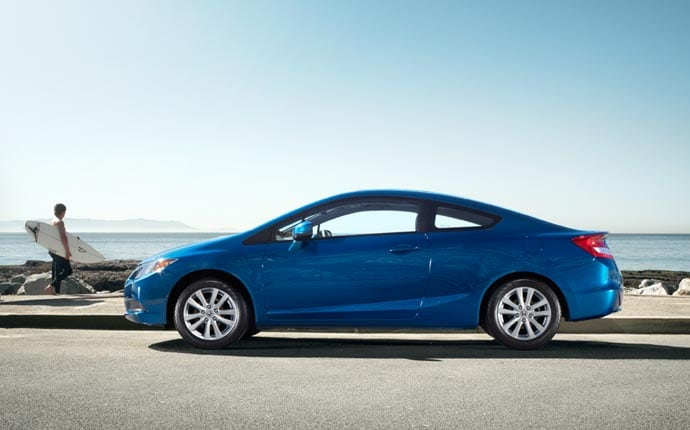 Exterior Photo of 2012 Honda Civic Coupe