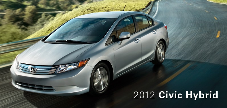 2012 Honda Civic Hybrid - Honda Certified Used Cars