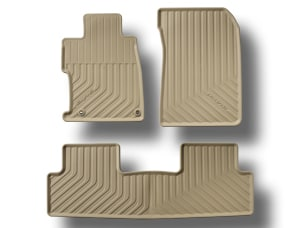 ALL-SEASON FLOORMATS, BEIGE (part number:)