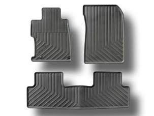 ALL-SEASON FLOORMATS, BLACK (part number:)
