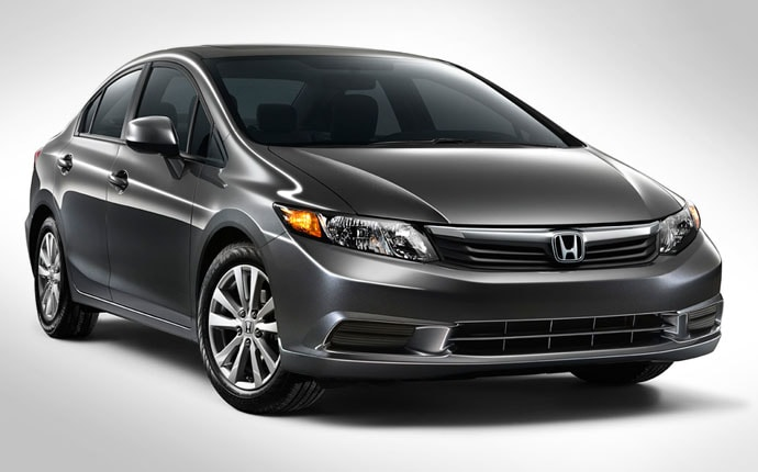 Exterior Photo of 2012 Honda Civic Sedan