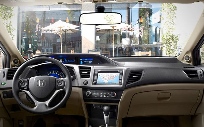 Interior Photo of 2012 Honda Civic Sedan