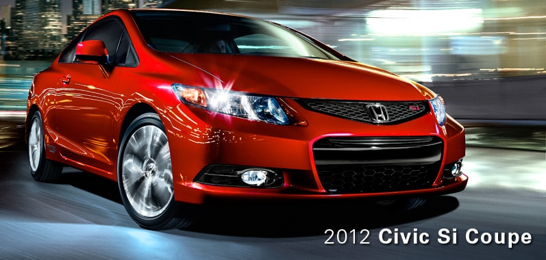 2012 Honda Civic Si Coupe - Honda Certified Used Cars