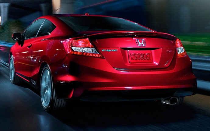 Exterior Photo of 2012 Honda Civic Si Coupe
