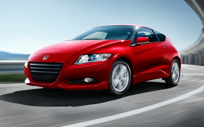 Exterior Photo of 2012 Honda CR-Z