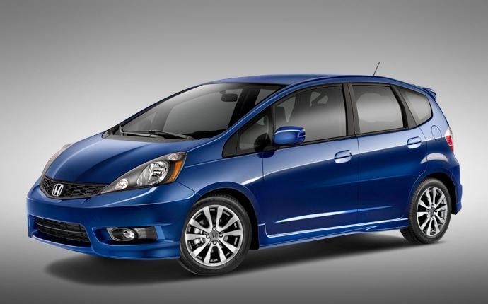Exterior Photo of 2012 Honda Fit