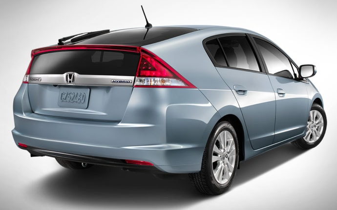 The Aerodynamically Styled, Five Passenger, Five Door Dedicated Hybrid  Vehicle Receives Extensive Changes Inside And Out For 2012.