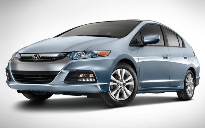 Upgraded 2012 Honda Insight Hybrid Offers New High Tech Look, Improved Fuel  Economy And More Features
