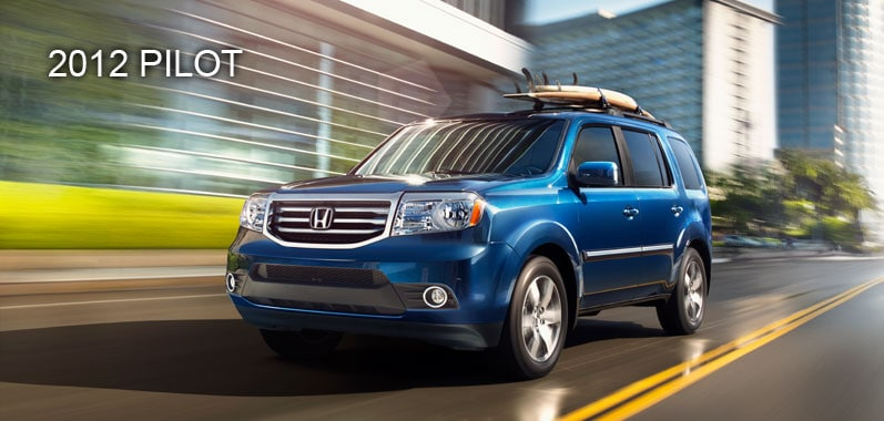 2012 Honda Pilot - Honda Certified Used Cars