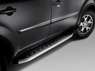PREMIUM CHROME RUNNING BOARDS (part number:)