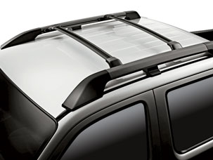 ROOF RACK, BLACK (part number:)