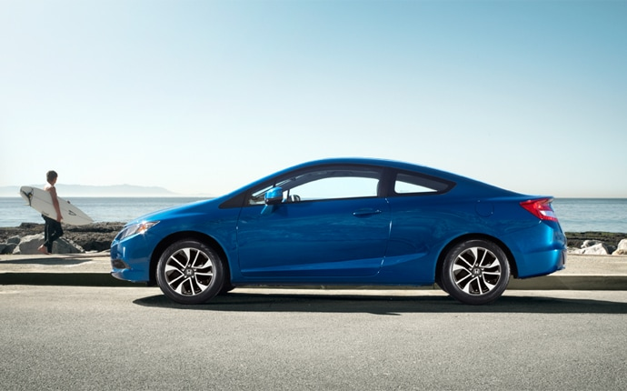 Exterior Photo of 2013 Honda Civic Coupe