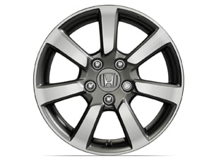 16 INCH MACHINE-FINISH ALLOY WHEEL (part number:)