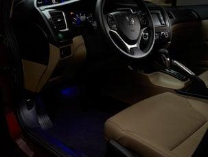 Honda Online Store 2013 Civic Interior Illumination Blue Led