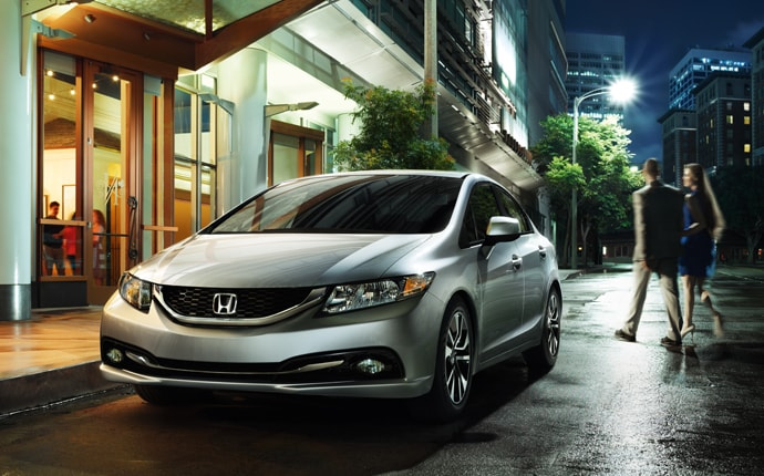 Exterior Photo of 2013 Honda Civic Sedan