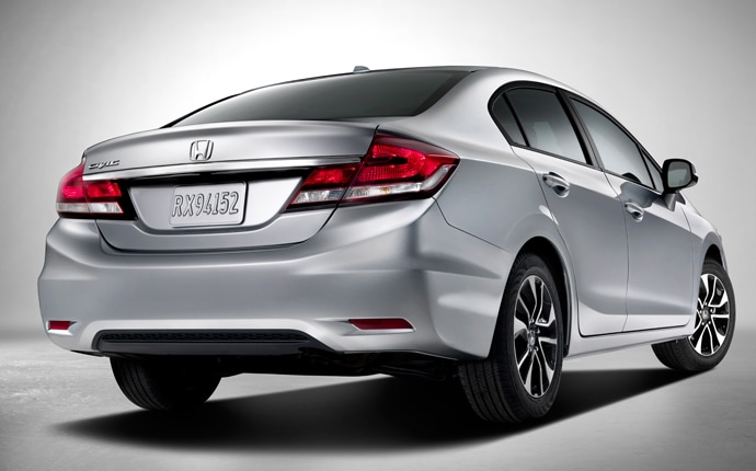 2013 Civic HF Interior/Exterior Images