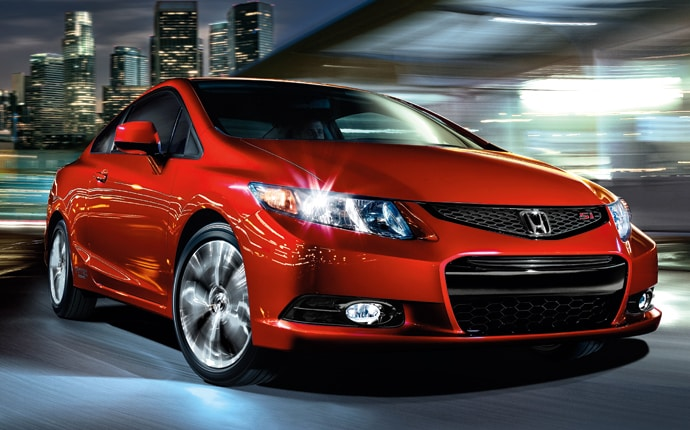 Exterior Photo of 2013 Honda Civic Si Coupe