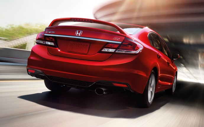 Exterior Photo of 2013 Honda Civic Si Sedan