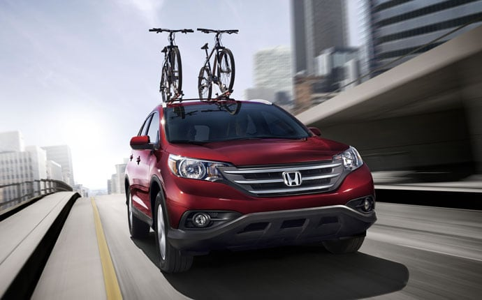 Exterior Photo of 2013 Honda CR-V