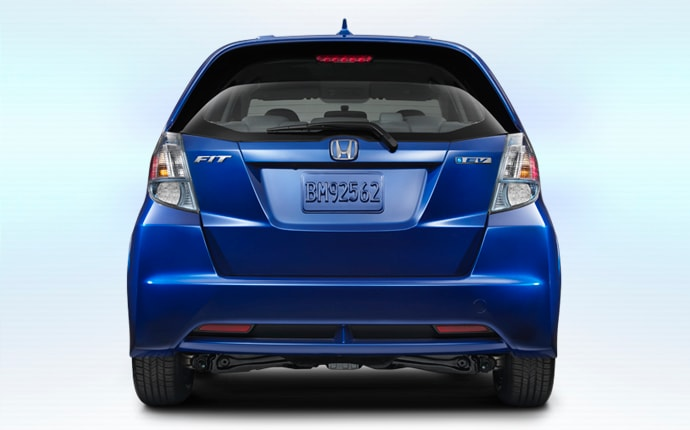 Exterior Photo of 2013 Honda Fit EV