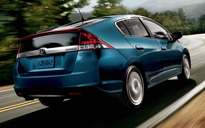 Exterior Photo of 2013 Honda Insight