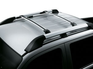 ROOF RACK-SILVER (part number:)