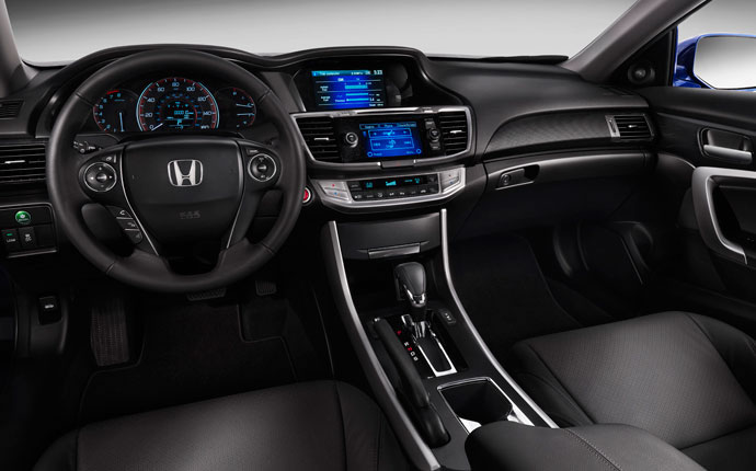 The Accord is loaded with intelligent technology that's intuitive and