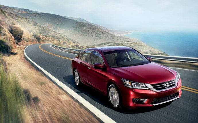 The Honda Accord Is One Of Americau0027s Best Selling Family Cars, Newly  Redesigned In 2014 To Offer More Of What Drivers Want. Available In A  Variety Of Models ...