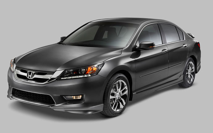 2014 Honda Accord Sedan Side8