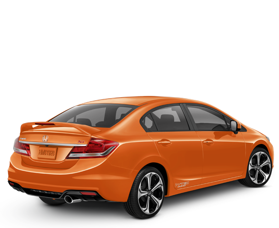 Honda Civic Si 2014 Orange