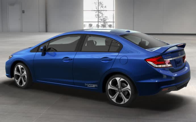 2014 honda civic si sedan in los angeles new honda civic honda delear la. Black Bedroom Furniture Sets. Home Design Ideas
