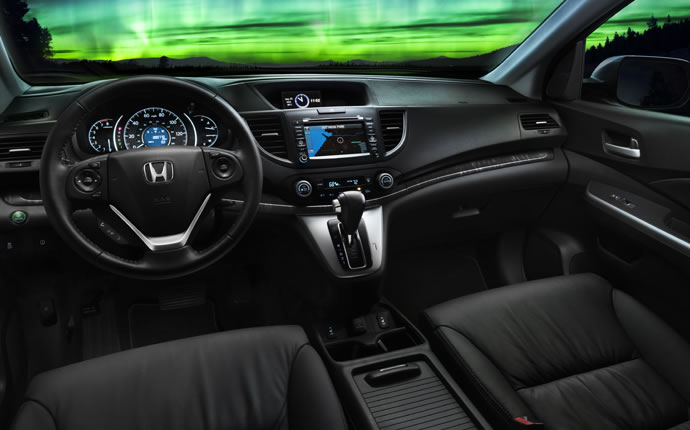 and high-tech touches, the CR-V is fun for everyone onboard