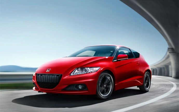 cars with best gas mileage - 2014 honda cr-z