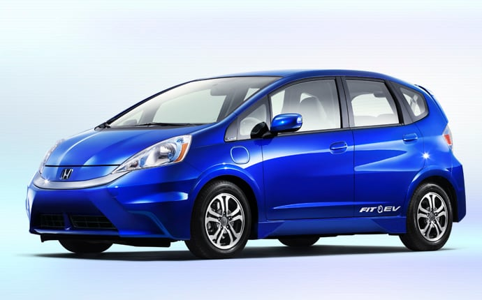 Exterior Photo of 2014 Honda Fit EV