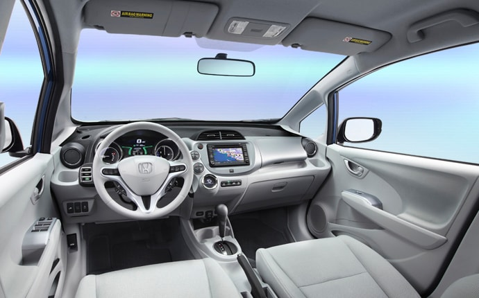 Automobiles Honda Com Images 2014 Fit Ev Interior Gallery