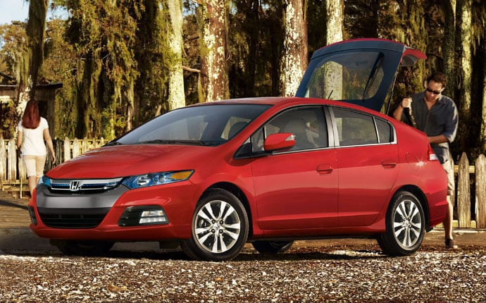 The Curb Weight Of Honda Insight Is Nearly 300 Pounds Less Than Prius