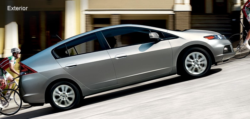 exterior features 2014 honda insight hybrid official site. Black Bedroom Furniture Sets. Home Design Ideas