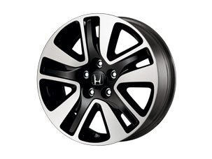 18-IN BLACK ALLOY WHEEL (part number:)