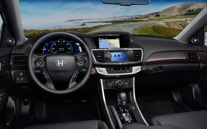 Interior Photo Of 2017 Honda Accord Hybrid