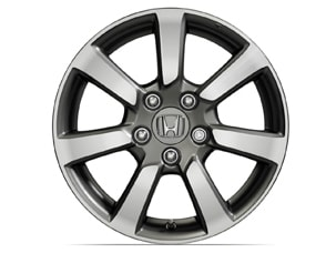 16 INCH MACHINE FINISH ALLOY WHEEL (part number:)