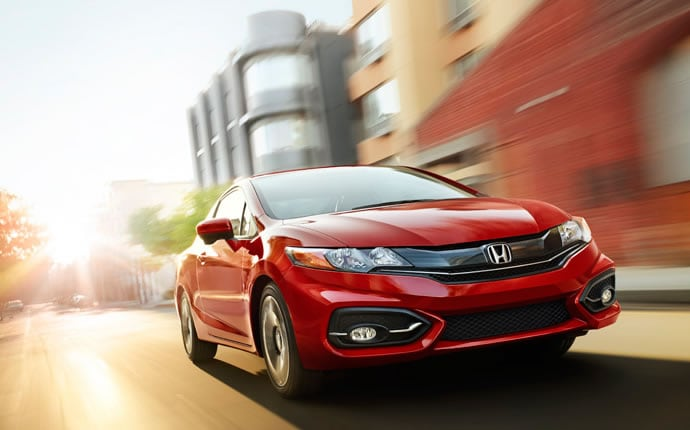 Exterior Photo of 2015 Honda Civic Coupe
