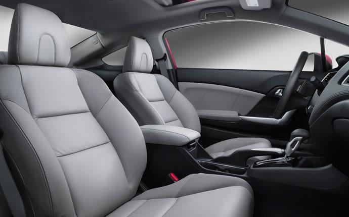 ... 2015 Honda Civic Coupe Leather Seats