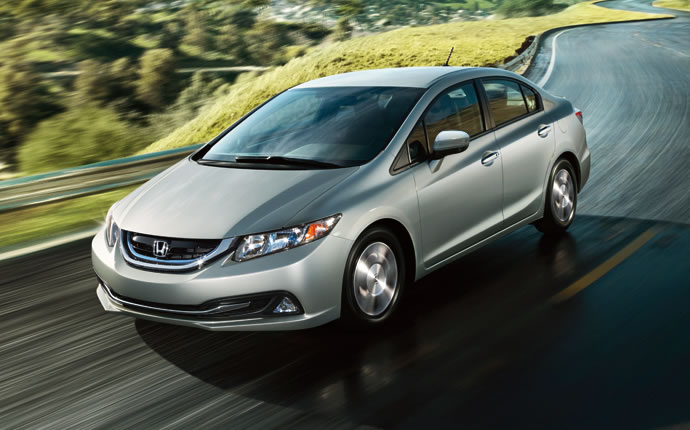 Exterior Photo of 2015 Honda Civic Hybrid
